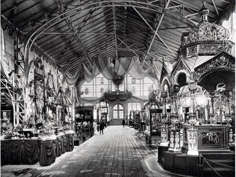 Всероссийская промышленная и художественная выставка в Нижнем Новгороде 1896 года. Художественно-промышленный отдел